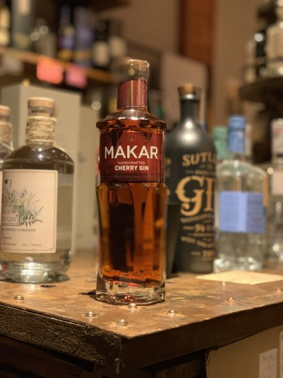 MAKAR GLASGOW CHERRY GIN  500ml マッカー グラスゴーチェリージン