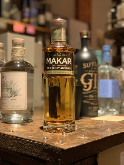 MAKAR MULBERRY AGED GIN 500ml  マッカー グラスゴー マルベリーエイジドジン