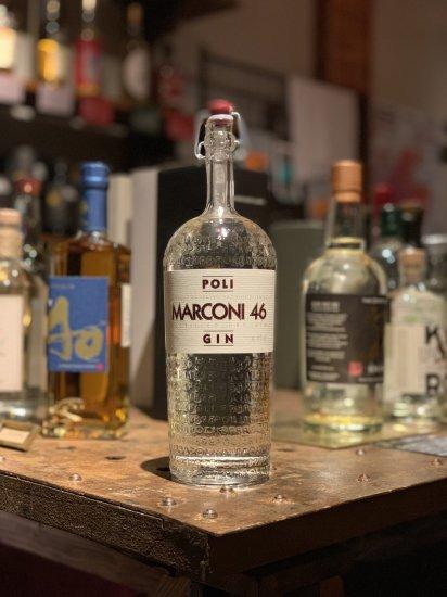 ポリ イタリアン・ジン マルコーニ 46 Poli Italian Gin Marconi 46 700ml 46%
