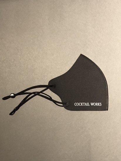 カクテルワークス オリジナルマスク 「COCKTAIL WORKS」ブラック