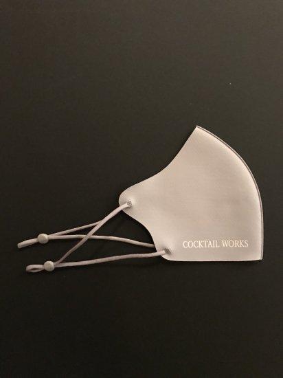カクテルワークス オリジナルマスク 「COCKTAIL WORKS」グレー