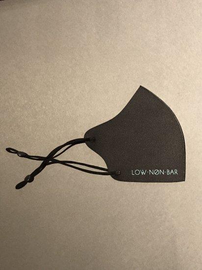 カクテルワークス オリジナルマスク 「LOW NON-BAR」ブラック