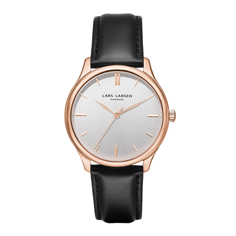 Mathilde(LW27) Rose gold with black leather strap<img class='new_mark_img2' src='https://img.shop-pro.jp/img/new/icons20.gif' style='border:none;display:inline;margin:0px;padding:0px;width:auto;' />