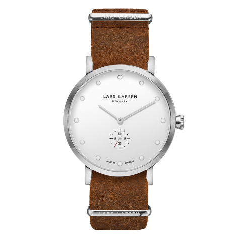【Special Price】OUTLET Christopher(LW32) Steel with Cognac Zulu strap<img class='new_mark_img2' src='https://img.shop-pro.jp/img/new/icons20.gif' style='border:none;display:inline;margin:0px;padding:0px;width:auto;' />