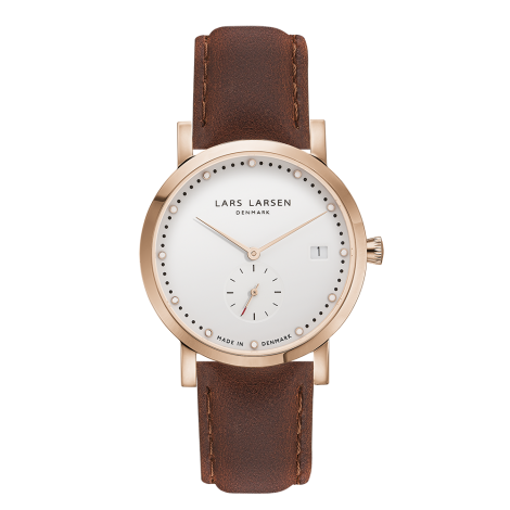 【Special Price】Helena(LW37) Rose gold with brown leather strap<img class='new_mark_img2' src='https://img.shop-pro.jp/img/new/icons41.gif' style='border:none;display:inline;margin:0px;padding:0px;width:auto;' />