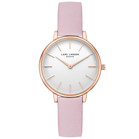 Caroline(LW46)  Rose gold with Pink Rose leather strap<img class='new_mark_img2' src='https://img.shop-pro.jp/img/new/icons41.gif' style='border:none;display:inline;margin:0px;padding:0px;width:auto;' />