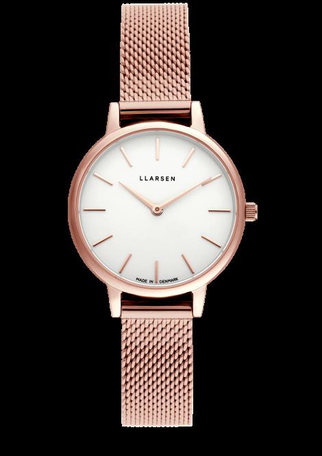 【雨の日も暑い日もさらっと快適に!メッシュモデル期間限定プライス】 CAROLINE (LW46) Rose gold bracelet