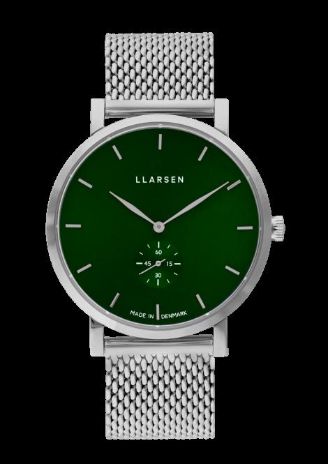 NIKOLAJ (LW43) Steel bracelet / Forest dial