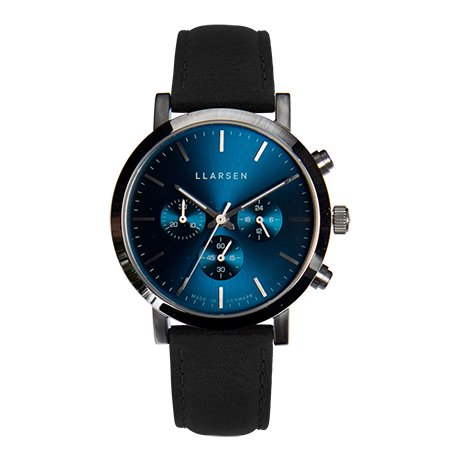 NOR Chronograph (LW49) - Stainless with ink strap 【men's FUDGE 11月号掲載】