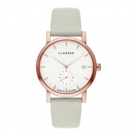 2019AWコレクション Helena (LW37) Rose gold with Mint leather strap