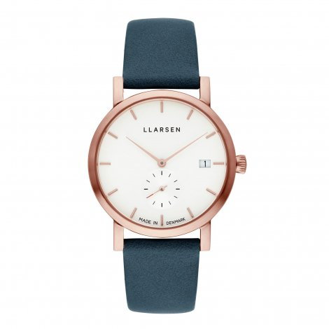 2019AWコレクション Helena (LW37) Rose gold with Ocean leather strap