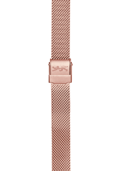 Rose Gold Mesh Bracelet 12mm