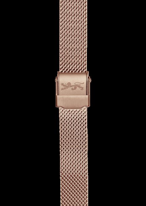 Rose gold Mesh Bracelet 18mm