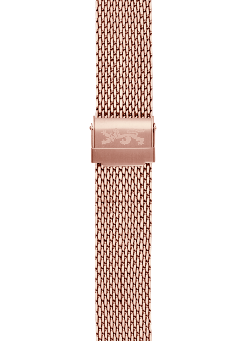 Rose gold Mesh Bracelet 20mm
