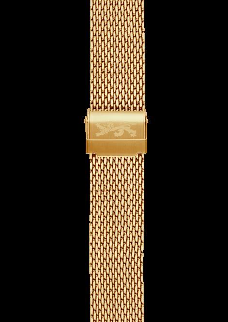 Gold Mesh Bracelet 20mm