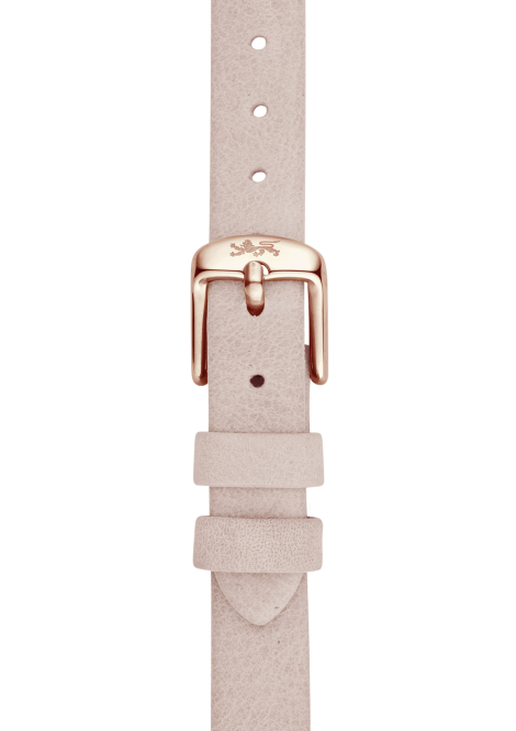 Powder leather strap 18mm