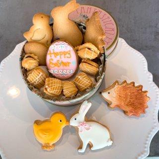 春色ミニアイシングクッキー缶