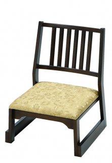 木製 背付椅子 H26 金花柄