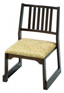 木製 背付椅子 H36 金花柄