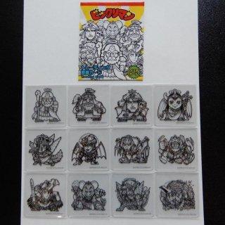 ビックリマン原画展 トレーディング原画カード12種コンプ+未開封1点