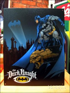<img class='new_mark_img1' src='https://img.shop-pro.jp/img/new/icons3.gif' style='border:none;display:inline;margin:0px;padding:0px;width:auto;' />ブリキ看板 THE Dark Knight