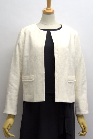 Crespi クレスピ ミックスツィードツイルジャケット