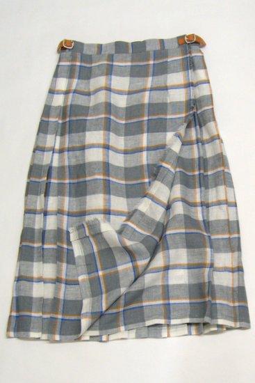 O'neil of Dubline オニールオブダブリン タータンチェック ラップスカート