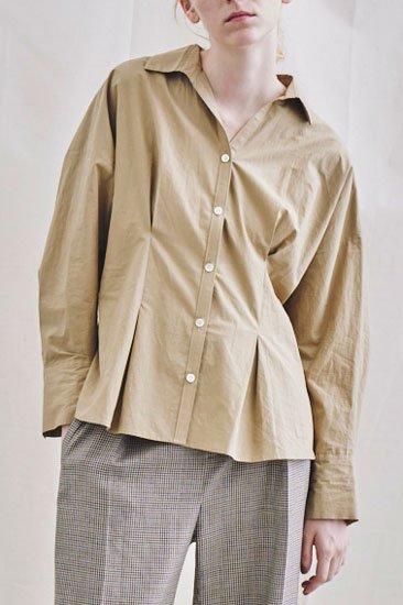 Michel Beaudouin ミッシェルボードワン タイプライターレシリアントハードフィニッシュ シャツ