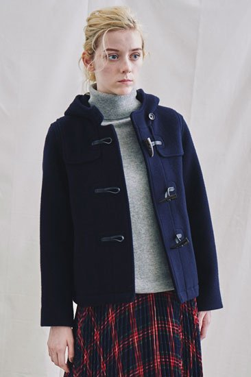 【30%OFF】Michel Beaudouin ミッシェルボードワン ダブルパイルモッサ ショートダッフルコート<img class='new_mark_img2' src='https://img.shop-pro.jp/img/new/icons20.gif' style='border:none;display:inline;margin:0px;padding:0px;width:auto;' />