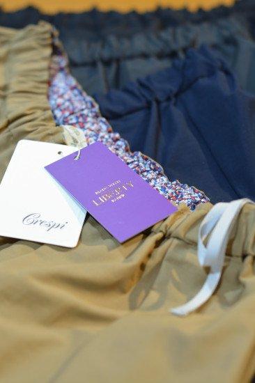 Crespi クレスピ グログランスカート 80cm丈