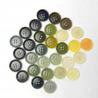 [30個入]スーツ用模様入りカラーボタン ランダムカラー/20mm/4穴