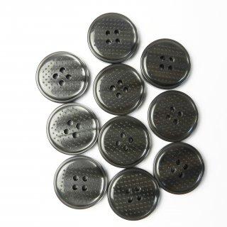 ドット模様入グレー系ボタン/23mm/4穴/コートに最適
