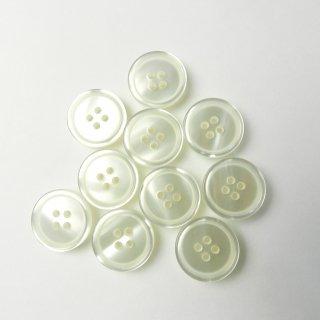白色ボタン/19mm/4穴/カーディガンに最適