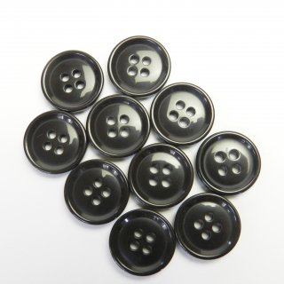 こげ茶色系ボタン/18mm/4穴/コート袖口・カーディガンに最適