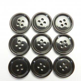 こげ茶色系ボタン/20mm/4穴/スーツやジャケットに最適