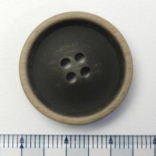 ビンテージ風こげ茶色系ボタン/25mm/4穴/コートに最適