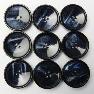 紺色系の貝調ボタン/19mm/4穴/カーディガンに最適