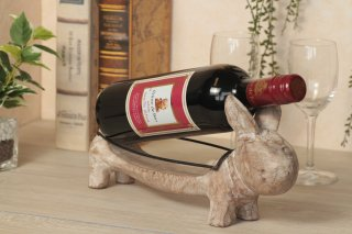 うさぎのワインホルダー