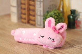 うさぎのペンケース (ピンク・ホワイト)