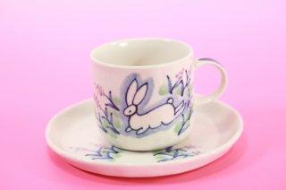 九谷焼コーヒーカップ&ソーサー