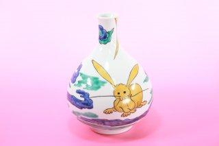 今九谷窯の花瓶(中村元風)