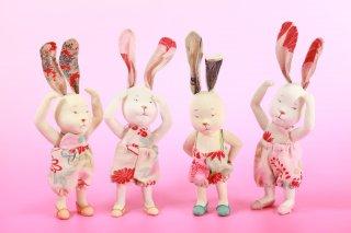 関法子作 うさぎ人形