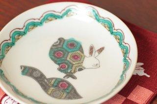 九谷焼き 絵皿 A