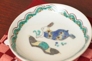 九谷焼き 絵皿 B