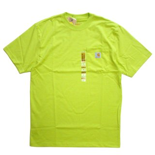 CARHARTT POCKET TEE SOUR APPLE