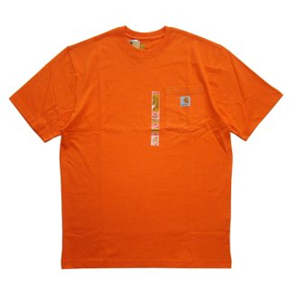 CARHARTT POCKET TEE ORANGE