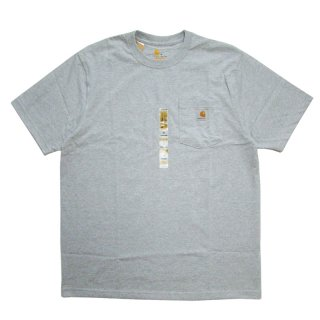 CARHARTT POCKET TEE GRAY