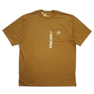 CARHARTT POCKET TEE BROWN