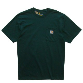 CARHARTT POCKET TEE HUNTER GREEN