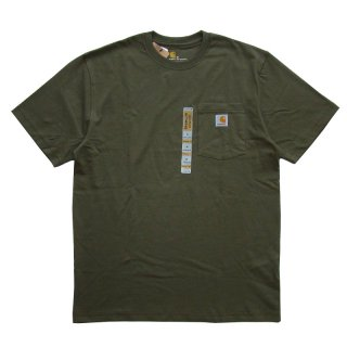 CARHARTT POCKET TEE ARMY GREEN